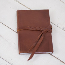 Braided Leather Journal