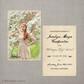 Vintage Graduation Invitation Announcement Card  Jocelyn - 4x6  Vintage Graduation Invitation Announcement