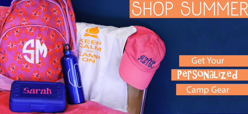 Personalized Camp Gear