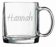 Personalized 13oz Large Mug (Glass)