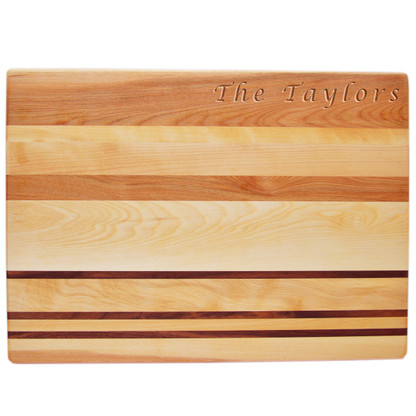 Personalized Integrity Countertop Cutting Board with Name