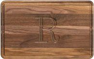 Wiltshire Walnut 10x16 Personalized Cutting Board