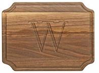 Selwood Walnut 9x12 Personalized Cutting Board