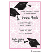 Grad Corners Graduation Invitation