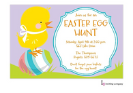 Egg Hunt Easter Holiday Party Invitation