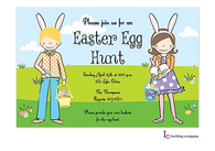 Easter Kids Easter Holiday Party Invitation