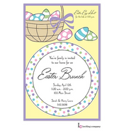 Easter Placesetting Easter Holiday Party Invitation