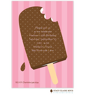 Popsicle Kids Party Invitation