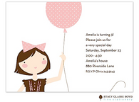 Amelia's Kids Party Invitation