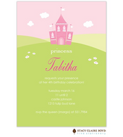 Tabitha's Castle Kids Party Invitation