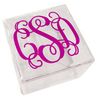 Personalized Lucite Box