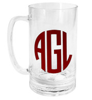 Personalized Lucite 20oz Beer Mug