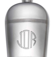 Personalized Hob Nob Flask