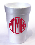 Personalized Foam Cups