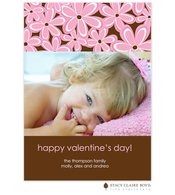 Daisy Valentine Digital Photo Card