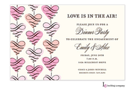 Scroll Hearts Invitation