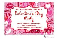 Valentine Craze Invitation