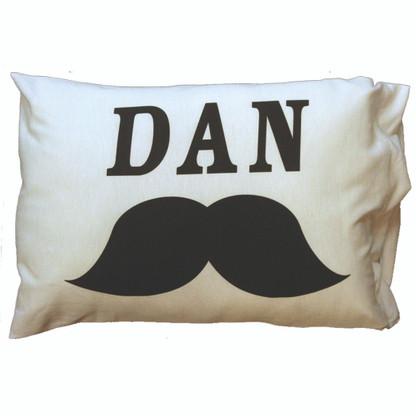 Personalized Pillowcase - Mustache