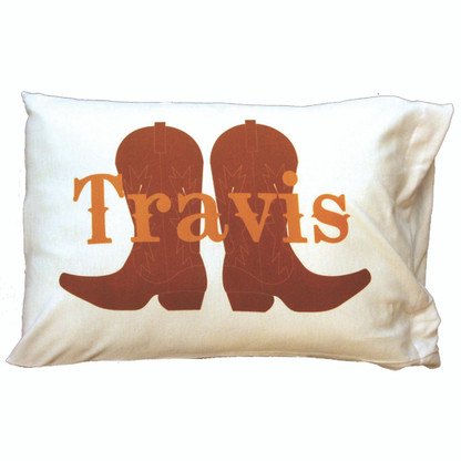 Personalized Pillowcase - Boots