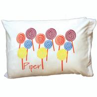 Personalized Pillowcase - Lollipop