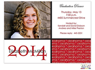 School Name Digital Graduation Announcement