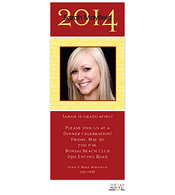 Skinny Custom Colors Digital Graduation Announcement
