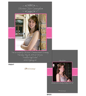 Photo grad digital photo announcement