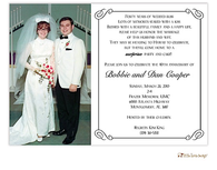 Elegant Digital Photo Invitation