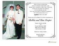 Elegant Digital Photo Invitation