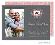 Anniversary Portrait Digital Photo Invitation