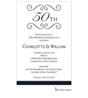 Anniversary Scroll Invitation