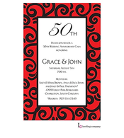 Stir Red Invitation