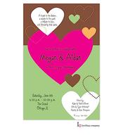 Stitched Hearts Invitation