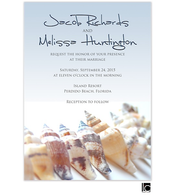 Seashell Wedding Invitation