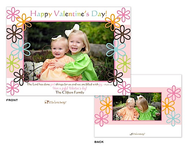 Fun Flowers Valentine's Digital Photocard