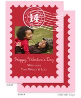 Valentine's Stamp Flat Digital Photo Card