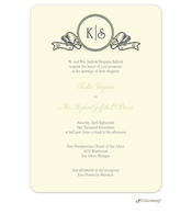 Banner Initials Invitation