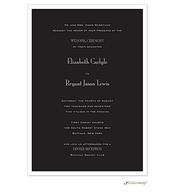 Black Svelte Invitation