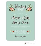 Botanical Bouquet Wedding Invitation