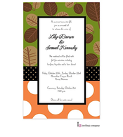 Leaf Mix Invitation