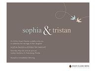 Lovebirds Invitation