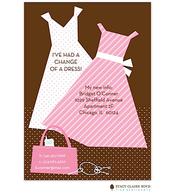 Change of A Dress Invitation