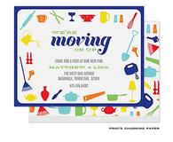 Colorful Kitchen Tools Sweet Petite Invitation