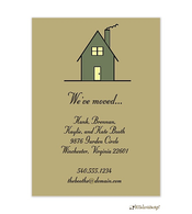 House Moving Card Invitation