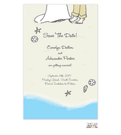 Beach Vows Invitation