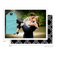 Beautiful Tag Digital Photo Save The Date