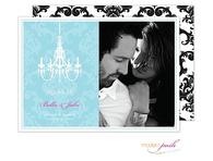 Chandelier Wedding Digital Photo Save The Date