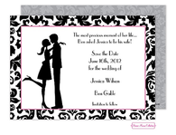 Couple In Love Invitation