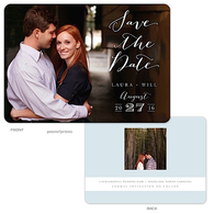 Lettered Love - Photo Solo Digital Photo Save The Date