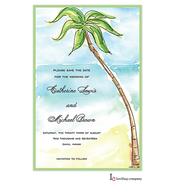 Palm Tree Invitation